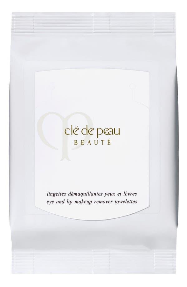 Main Image - Clé de Peau Beauté Eye & Lip Makeup Remover Sheets