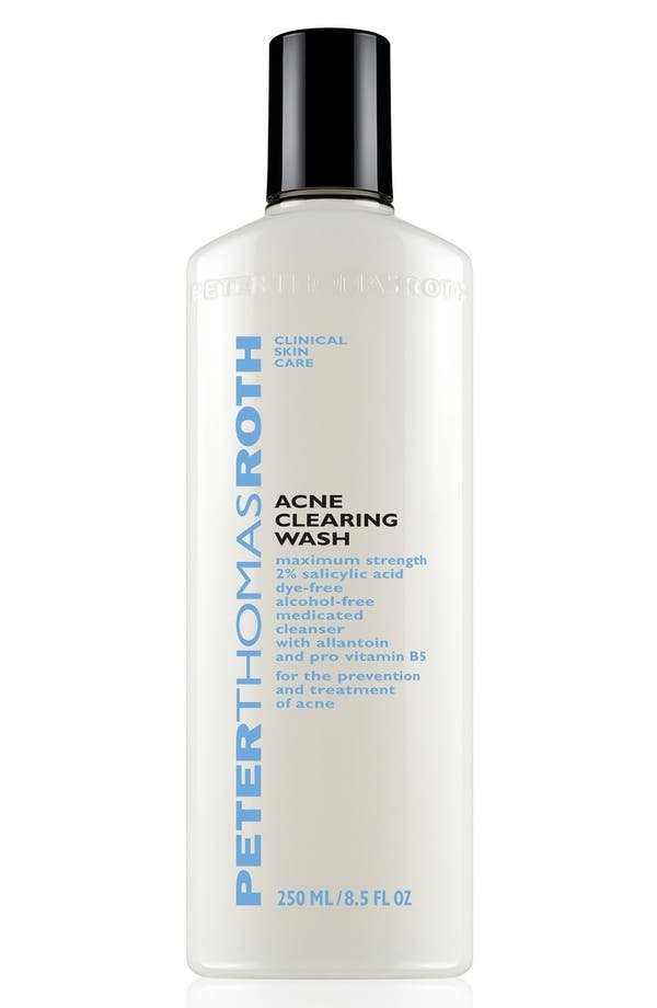 Acne Clearing Wash,                         Main,                         color, No Color