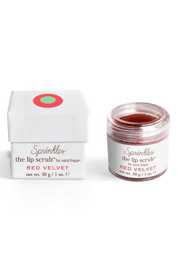 Main Image - sara happ® The Lip Scrub™ Sprinkles Red Velvet Lip Exfoliator (Limited Edition)