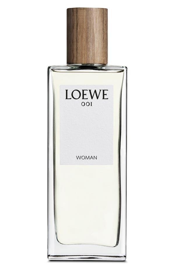 '001 Woman' Eau de Parfum,                             Main thumbnail 1, color,                             No Color
