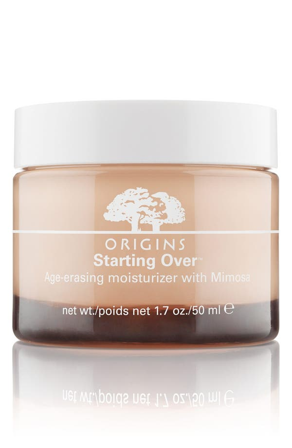 Starting Over<sup>™</sup> Age-Erasing Moisturizer with Mimosa,                         Main,                         color, No Color