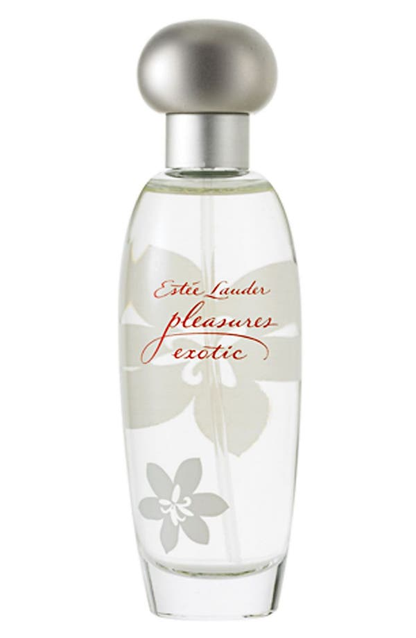 Alternate Image 1 Selected - Estée Lauder 'pleasures - exotic' Eau de Parfum Spray