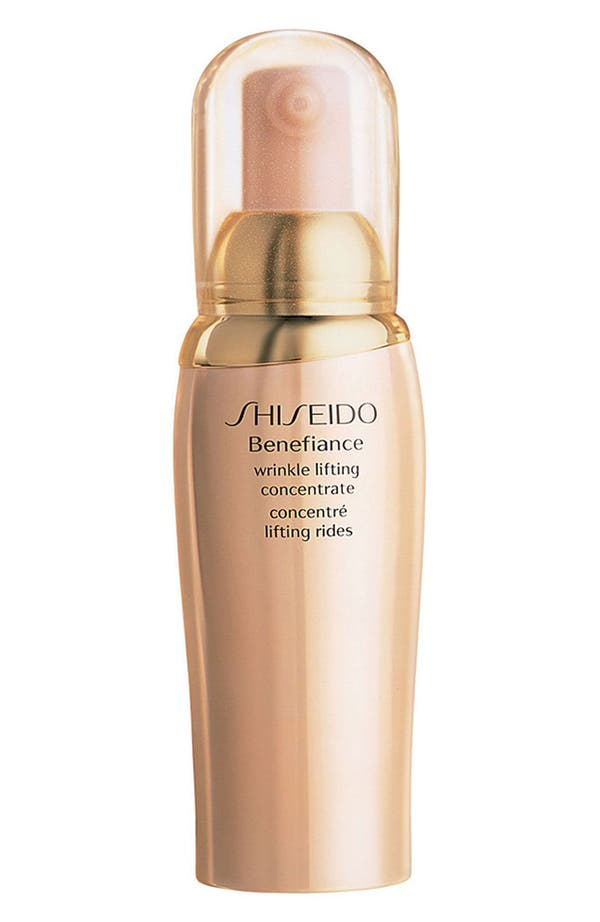 Alternate Image 1 Selected - Shiseido 'Benefiance' Wrinkle Lifting Concentrate