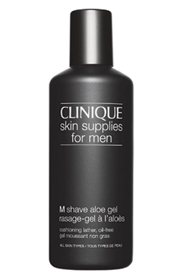 Alternate Image 1 Selected - Clinique Skin Supplies for Men M Shave Aloe Gel