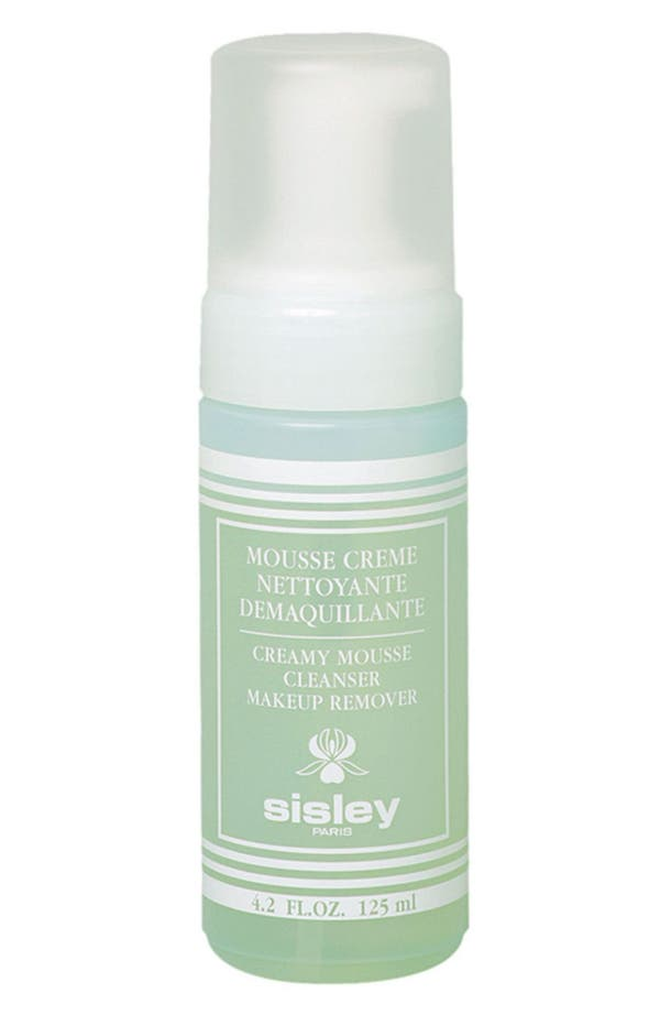 Main Image - Sisley Paris Creamy Mousse Cleanser Makeup Remover