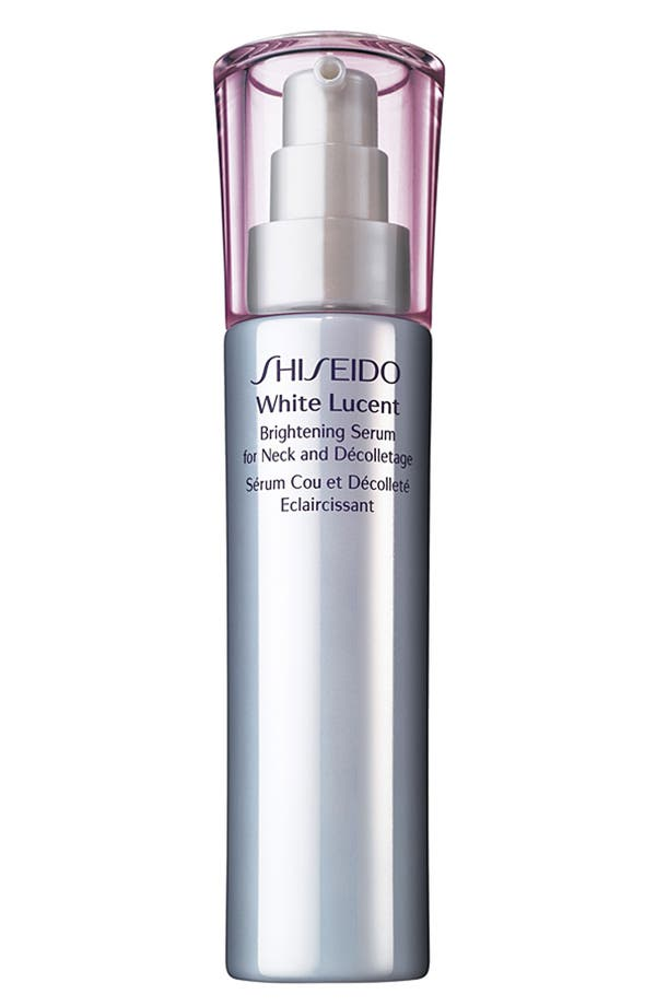 Main Image - Shiseido 'White Lucent' Brightening Serum for Neck & Décolletage
