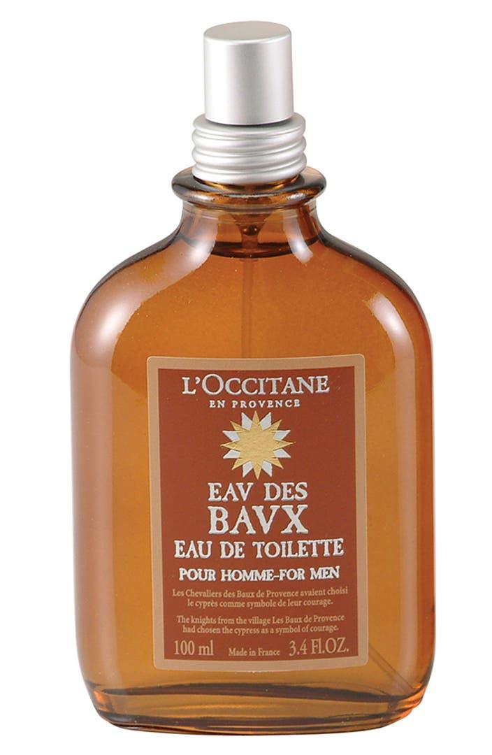 L 39 occitane 39 eau des baux pour homme 39 eau de toilette - L eau des toilettes remonte ...