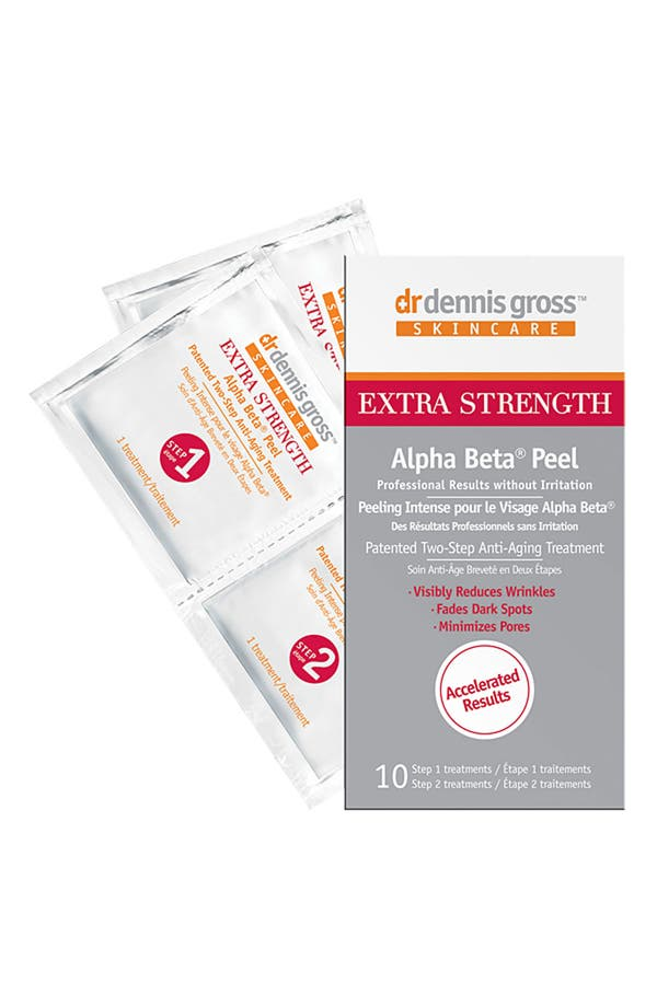 Alternate Image 1 Selected - Dr. Dennis Gross Skincare Extra Strength Alpha Beta® Peel - 10 Applications