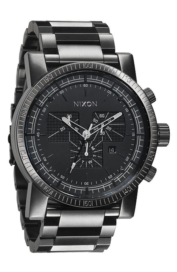 Alternate Image 1 Selected - Nixon 'The Magnacon' Bracelet Watch