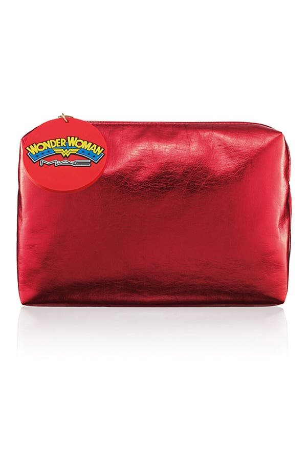 Main Image - M·A·C 'Wonder Woman' Red Makeup Bag