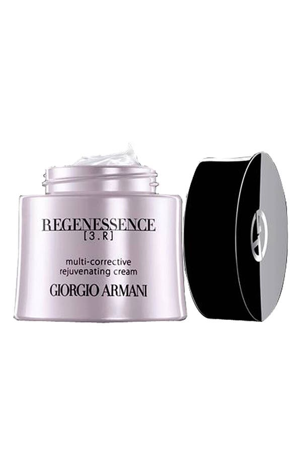 Alternate Image 1 Selected - Giorgio Armani 'Regenessence 3.R' Multi-Corrective Rejuvenating Cream