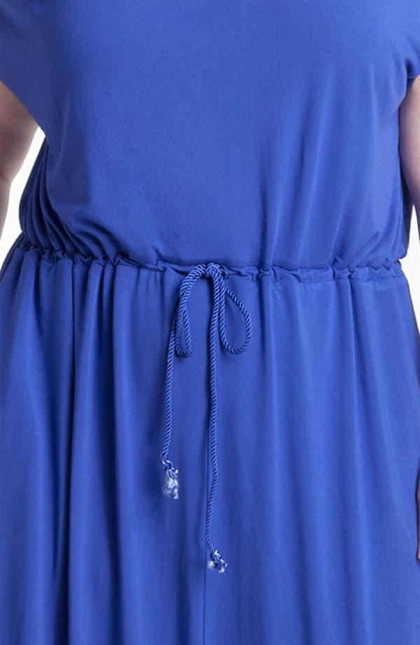 Alternate Image 3  - Sejour Split Neck Knit Maxi Dress (Plus)
