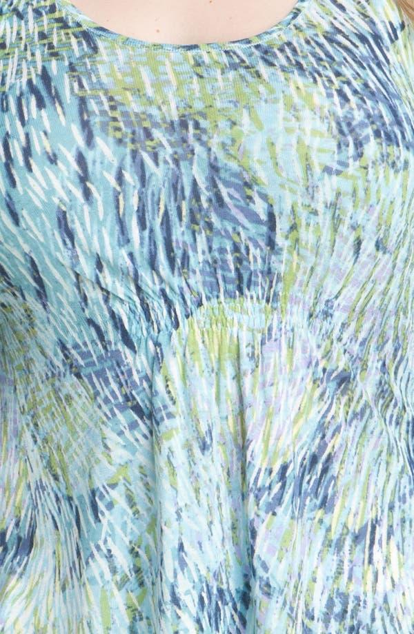 Alternate Image 3  - Nic + Zoe 'Sweeping Petals' Top (Plus)