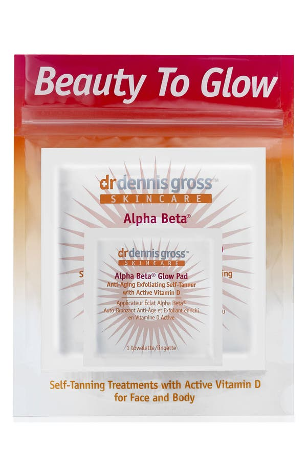 Main Image - Dr. Dennis Gross Skincare 'Beauty to Glow' Self Tan Kit