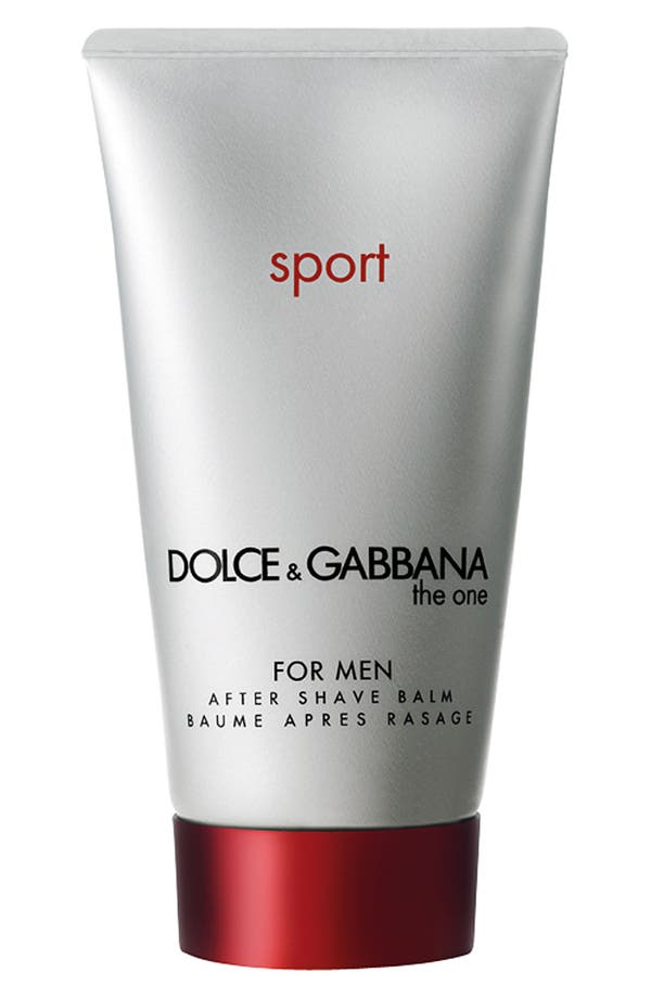 Main Image - Dolce&Gabbana Beauty 'The One for Men Sport' After Shave Balm