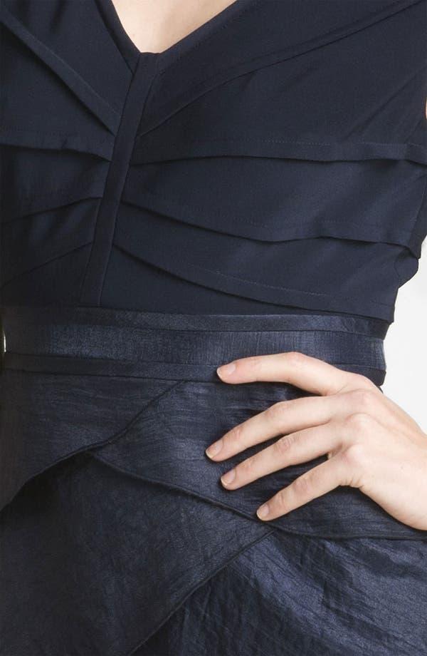 Alternate Image 3  - Adrianna Papell Pleated Mixed Media Sheath Dress