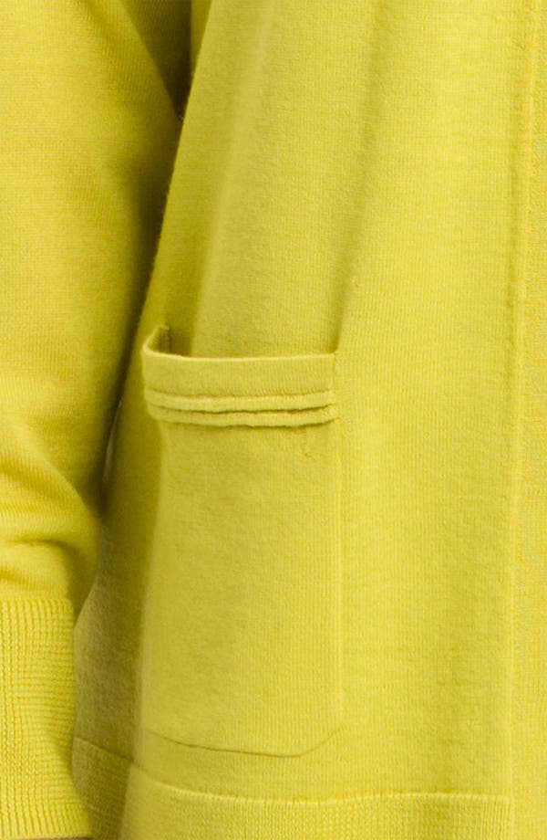 Alternate Image 3  - Sejour Two Pocket Girlfriend Cardigan (Plus)