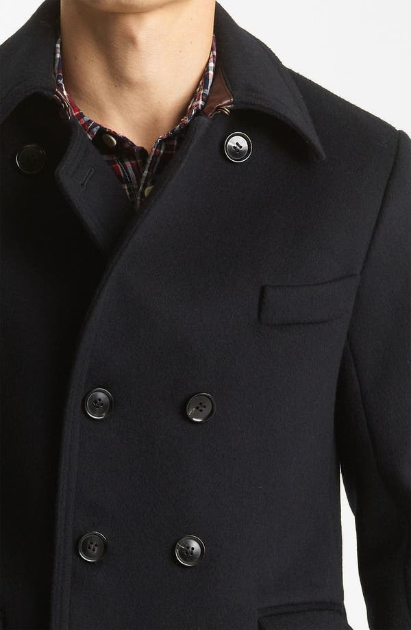 'Bowery' Coat,                             Alternate thumbnail 4, color,                             Navy