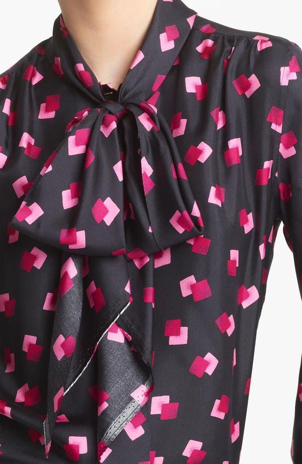 Alternate Image 2  - MARC JACOBS Tie Neck Silk Blouse