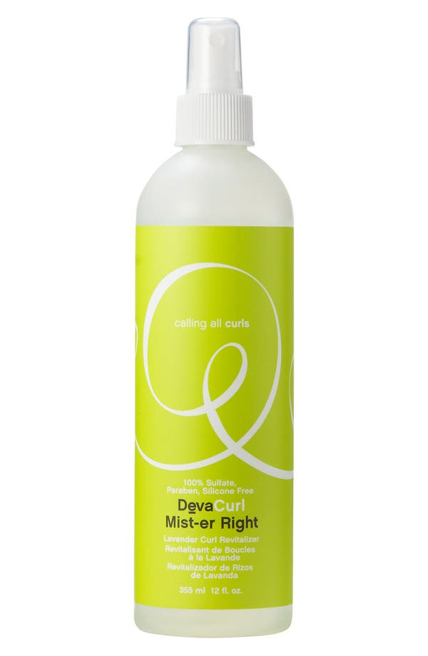 Alternate Image 1 Selected - DevaCurl 'Mist-er Right™' Lavender Curl Revitalizing Spray