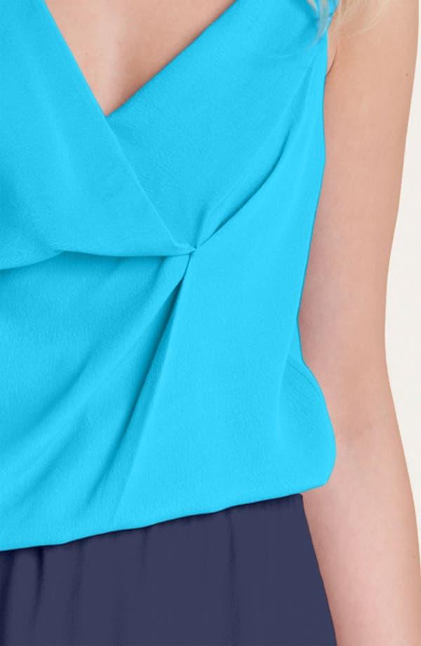 Alternate Image 3  - Diane von Furstenberg 'Lou' Colorblock Dress