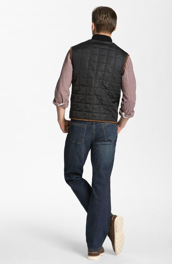 Alternate Image 5  - Hickey Freeman Gingham Woven Shirt