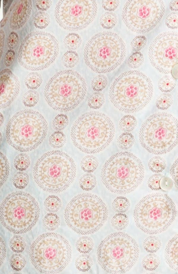 Alternate Image 3  - Carole Hochman Designs 'Wood Cut Floral' Pajamas