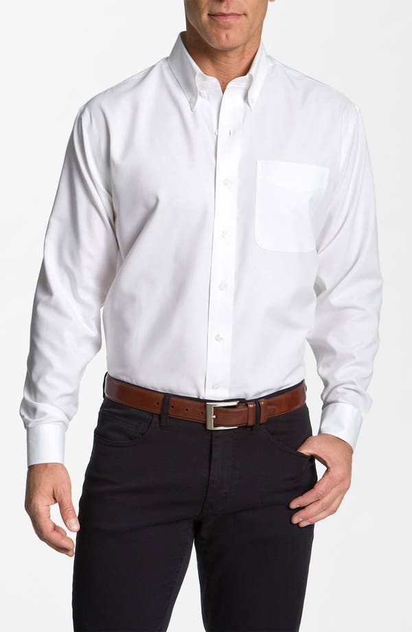 Main Image - Cutter & Buck Nailshead - Epic Easy Care Classic Fit Sport Shirt