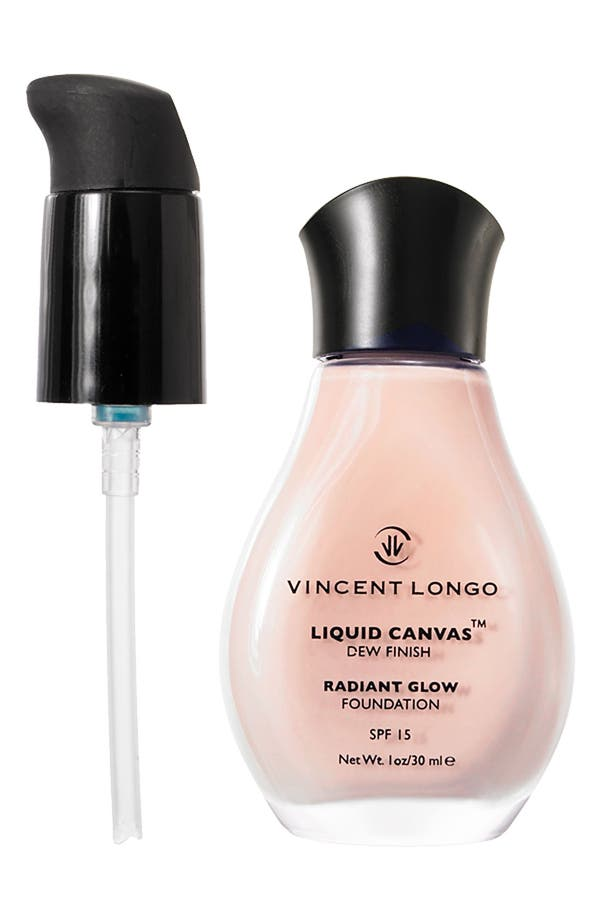 Alternate Image 1 Selected - Vincent Longo 'Liquid Canvas™' Dew Finish Foundation Waterproof SPF 15