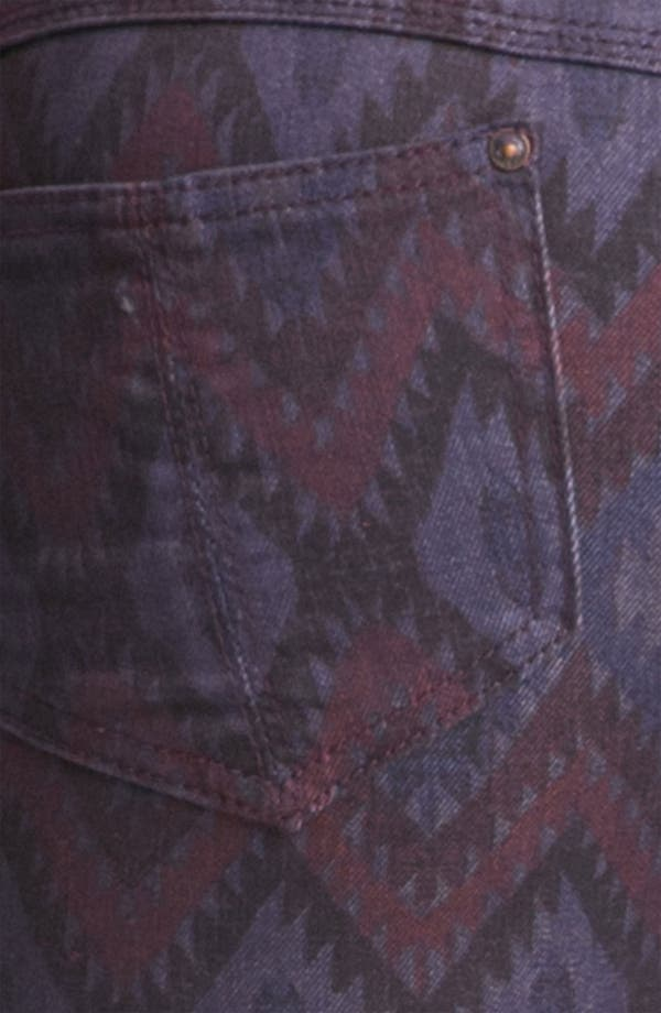 Alternate Image 3  - Free People Ikat Print Skinny Jeans