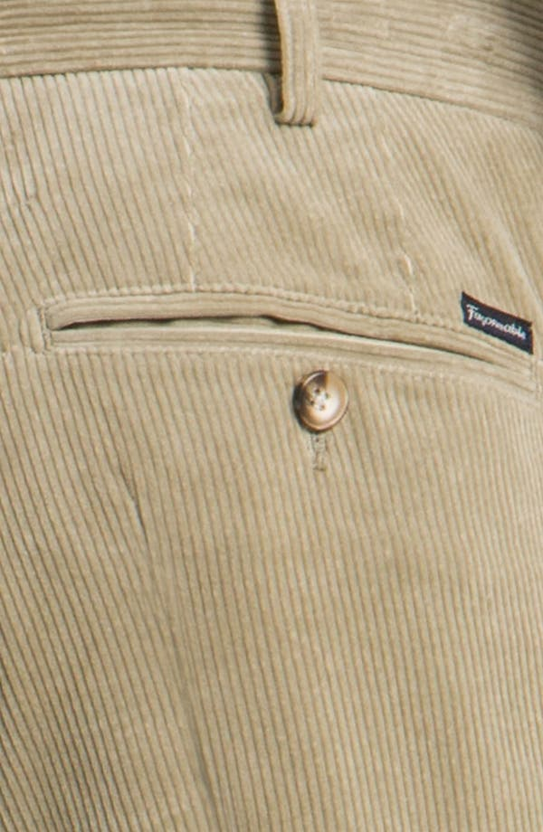 Alternate Image 3  - Façonnable Corduroy Pants