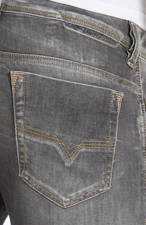 Alternate Image 4  - DIESEL® 'Safado' Straight Leg Jeans (0801I)