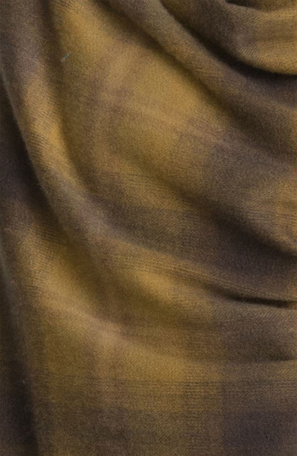 Alternate Image 2  - Nordstrom Plaid Cashmere Wrap