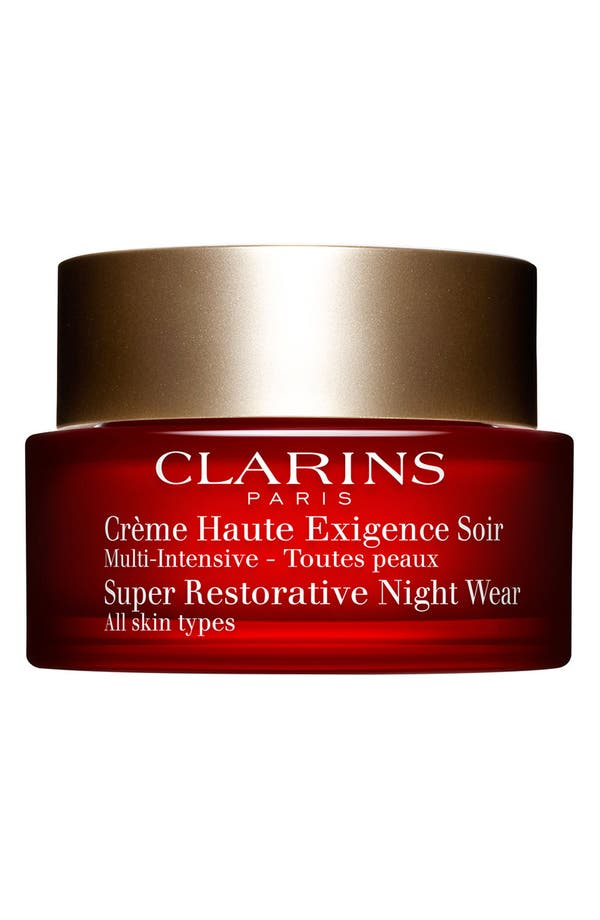 Alternate Image 1 Selected - Clarins 'Super Restorative' Night Wear