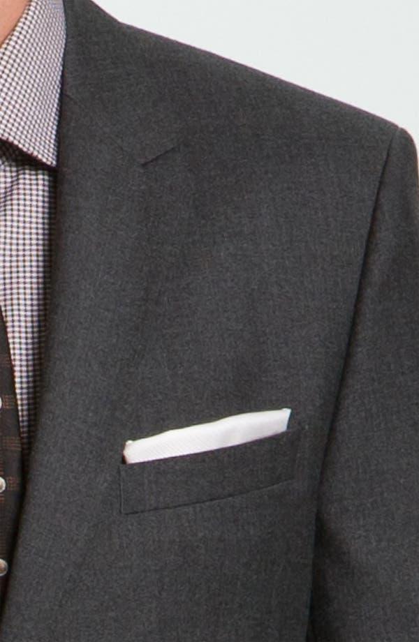 Alternate Image 5  - BOSS Black 'Key/Shaft' Trim Fit Suit