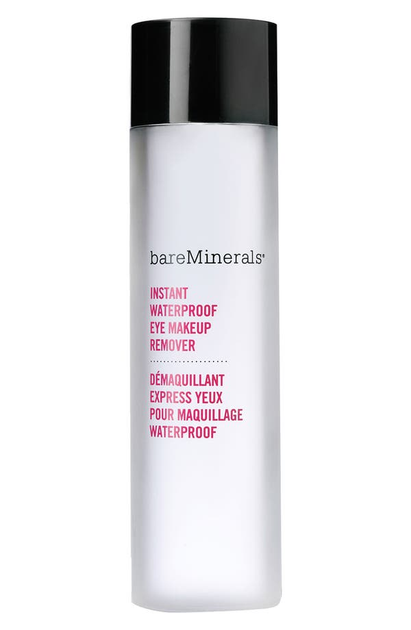 Alternate Image 1 Selected - bareMinerals® Instant Waterproof Eye Makeup Remover (4 oz.)