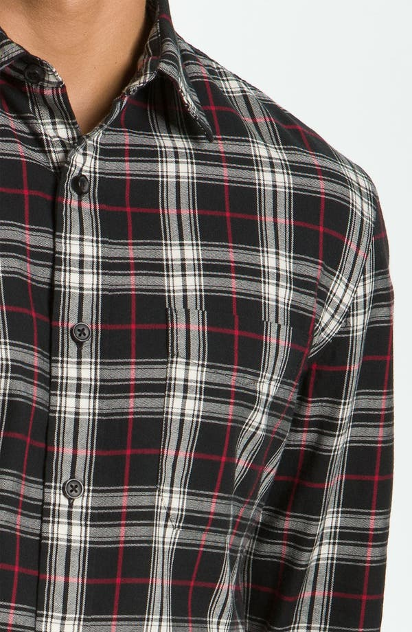 Alternate Image 3  - Wallin & Bros. Plaid Sport Shirt
