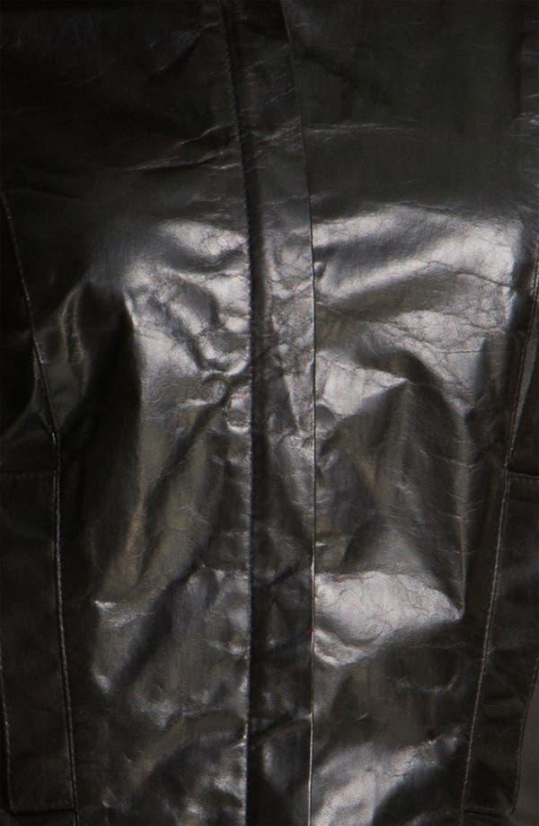 Alternate Image 3  - Robert Rodriguez Leather & Wool Moto Jacket