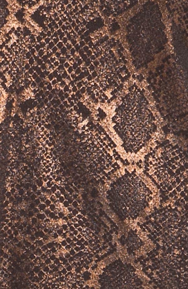 Alternate Image 5  - Sejour Weekend Snake Foil Print Sweater (Plus)
