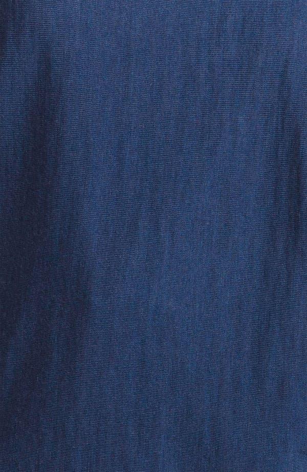 Alternate Image 3  - Eileen Fisher Rib Trim Merino Wool Top (Plus)