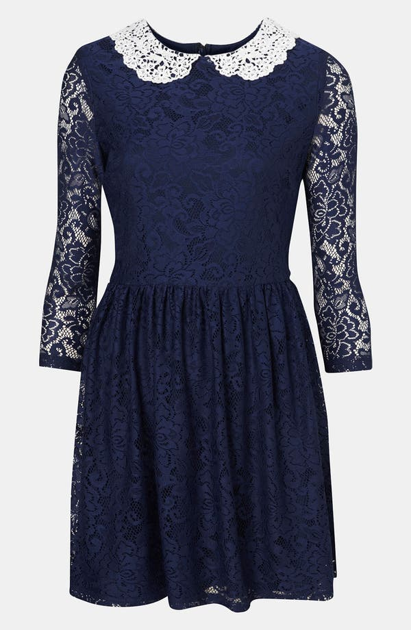 Alternate Image 1 Selected - Topshop Lace Dress