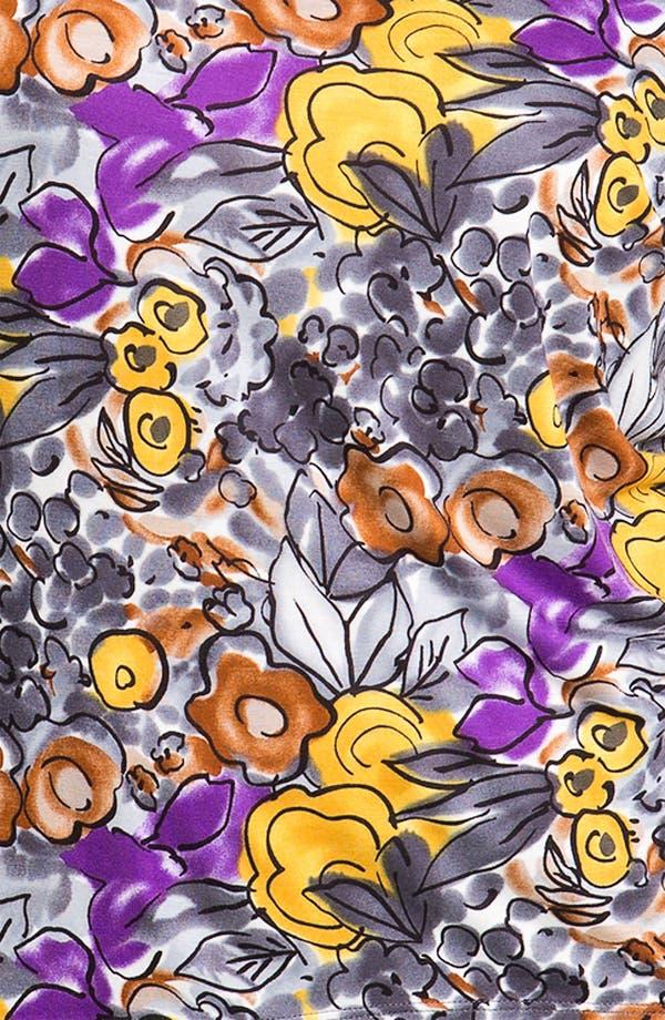 Alternate Image 3  - Olivia Moon Floral Print Tee (Plus)
