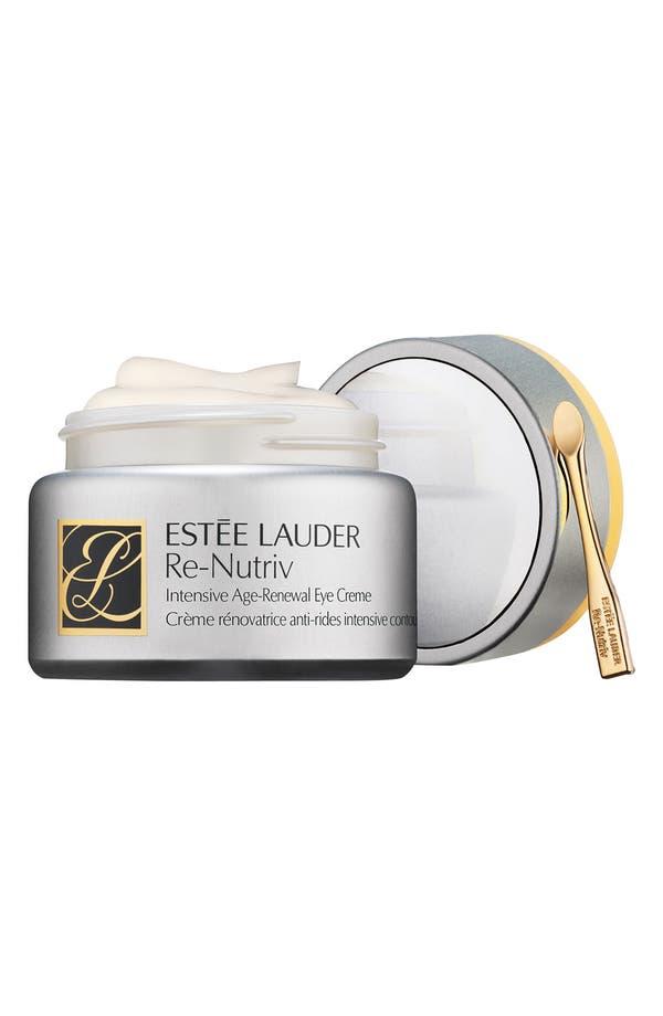 Main Image - Estée Lauder Re-Nutriv Intensive Age Renewal Eye Crème