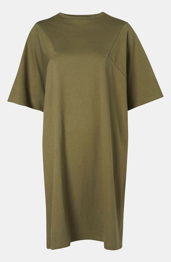 Alternate Image 1 Selected - Topshop Boutique Geo Seam T-Shirt Dress