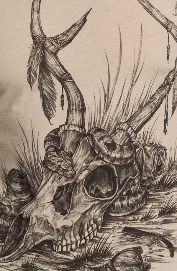 Alternate Image 3  - Rook 'Skull Life' T-Shirt