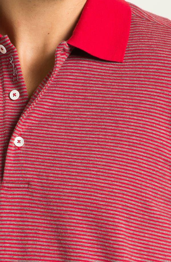 Alternate Image 3  - Bobby Jones Stripe Polo
