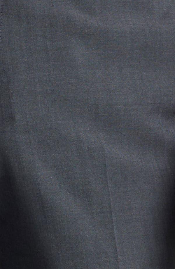 Alternate Image 3  - Topman 'Novak' Skinny Fit Flat Front Trousers