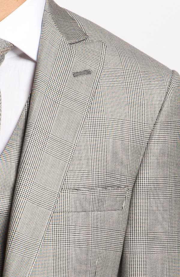 Alternate Image 6  - Hart Schaffner Marx Three Piece Plaid Suit