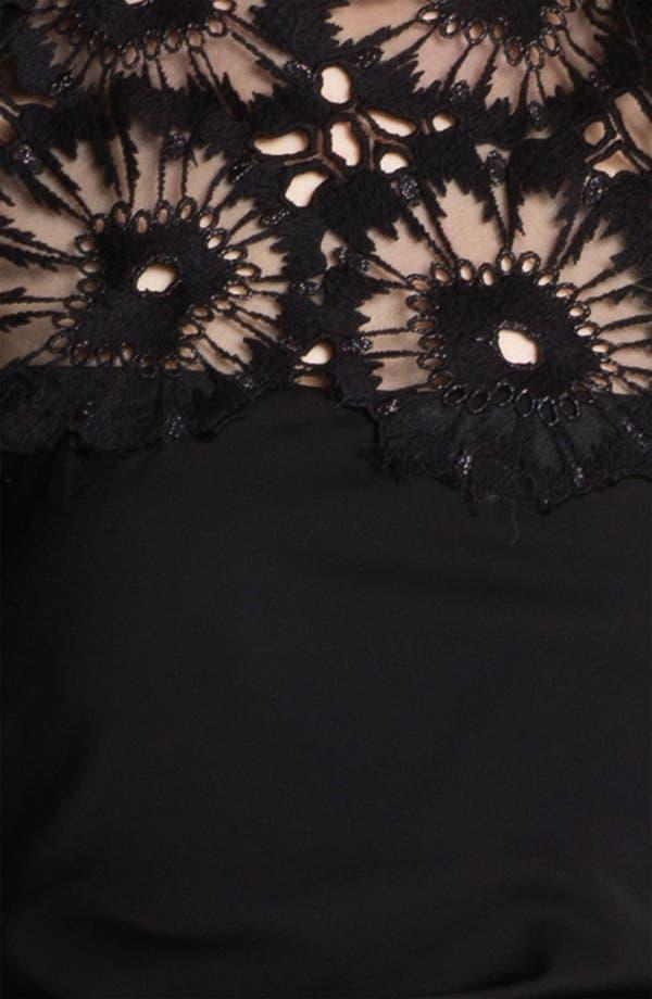 Alternate Image 3  - Lela Rose Side Ruched Dress