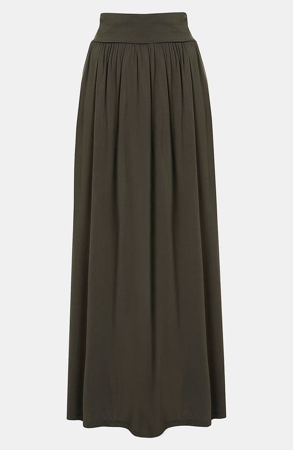 Alternate Image 1 Selected - Topshop Fold Over Maxi Skirt